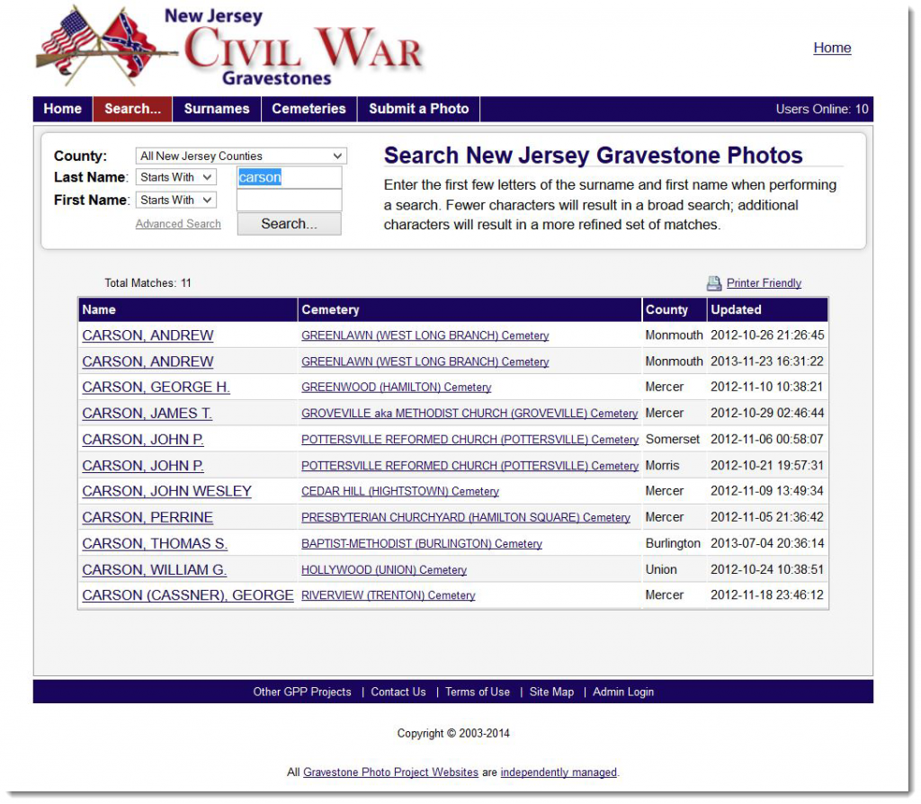 nj-civil-war-gravestones-carson-search-results