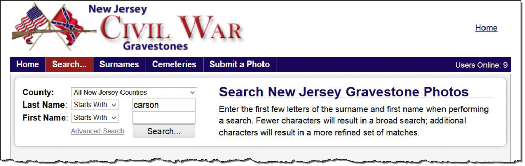 nj-civil-war-gravestones-search-bar
