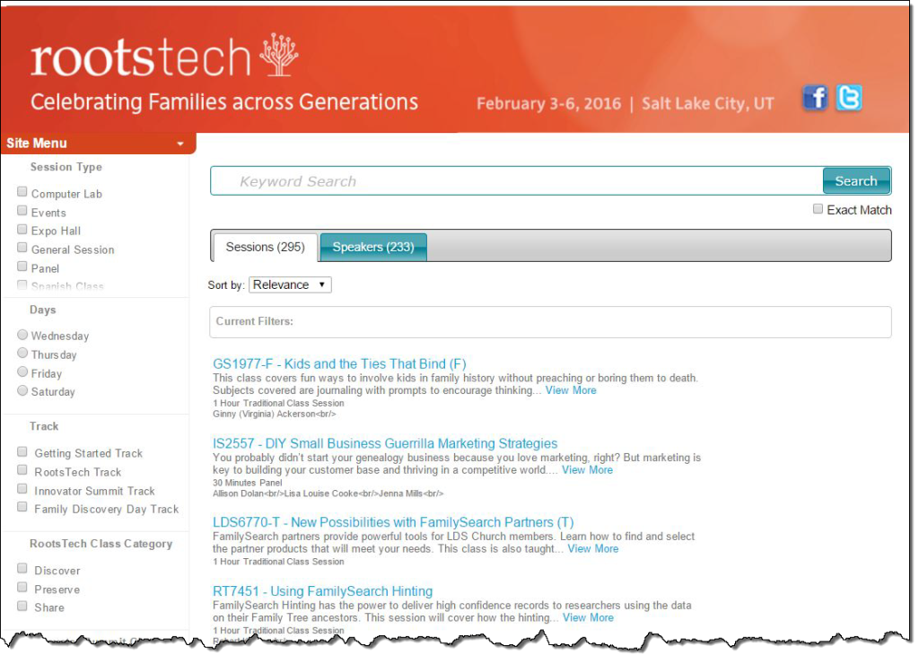 rootstech-2016-search-page